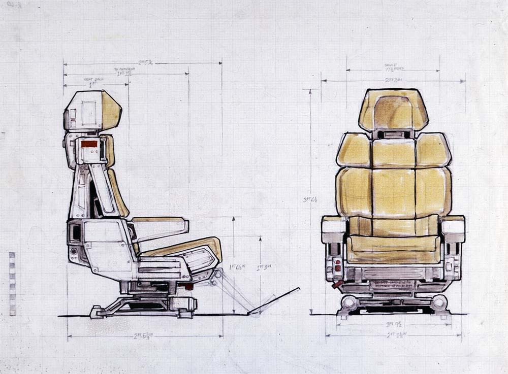 Sci Fi Seat - 3D model by KushaanC (@kchavda) - Sketchfab