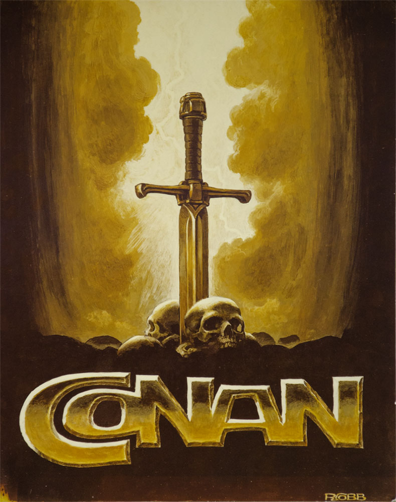 "Ron Cobb - ""Conan...Y Logo Design"